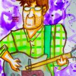 Fofo Blues Napoletano ritratto dal vivo da Andrea Spinelli