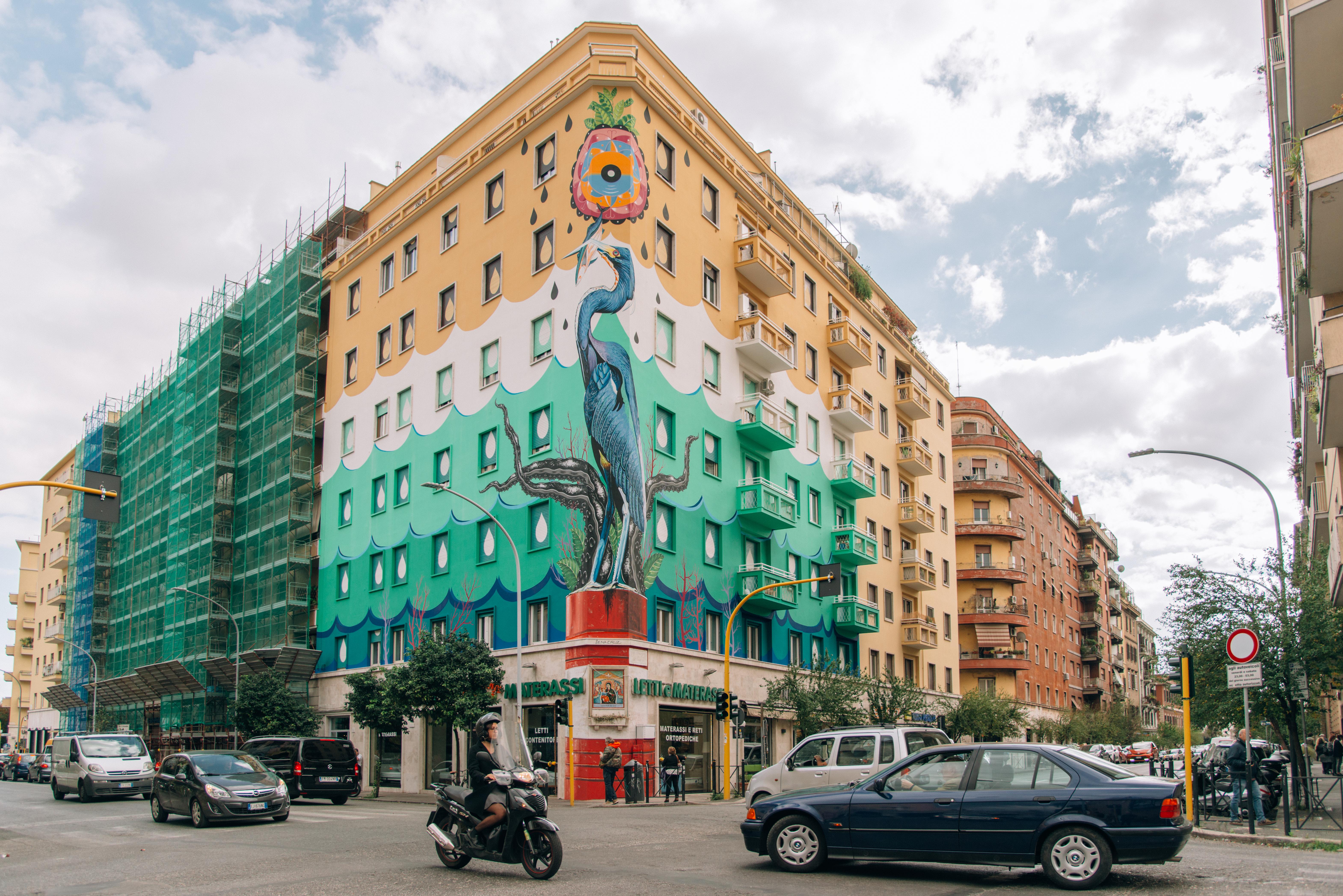 I Piu Bei Murales.No Interview Federico Massa E L Eco Murales Piu Grande D Europa
