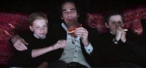 Nick Cave con i figli