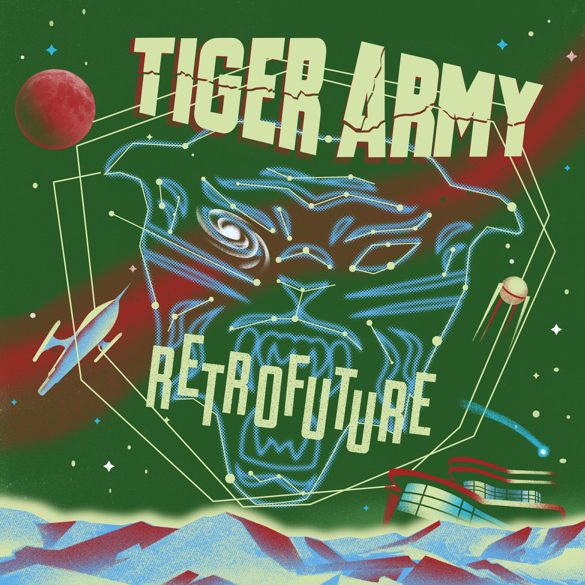 Album Retrofuture Tiger Army